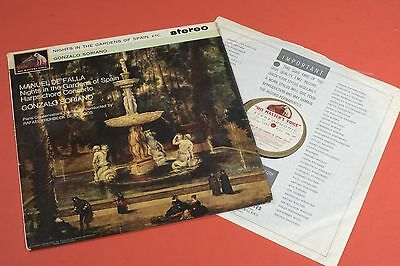 ASD 545 W/g HMV Falla Nights in the Gardens of Spain Soriano STEREO UK LP 1st
