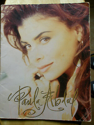 "Paula Abdul 1992 ""under My Spell Tour"" Program"
