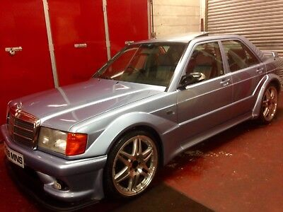 Mercedes 190E W201 1.8 Litre Reconditioned Engine and Box