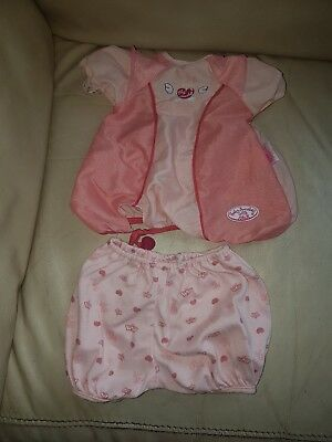 baby annabell clothes 2 items