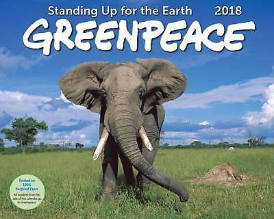 Greenpeace Deluxe Wall calendario nuovo 2018