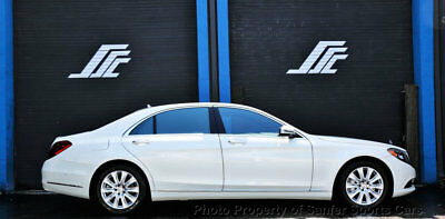 2015 Mercedes-Benz S-Class 4dr Sedan S 550 RWD 2015 Mercedes Benz S550 Pano Drivers Assist Distronic Financing Available Trades