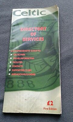 celtic fc directory of services first edition 1997