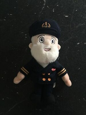 Golden Jubilee Captain Birds Eye  Doll Soft Toy Collectible
