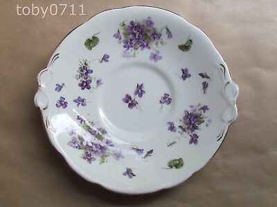 "HAMMERSLEY VICTORIAN VIOLETS 9½"" ROUND CAKE PLATE (Ref2598)"
