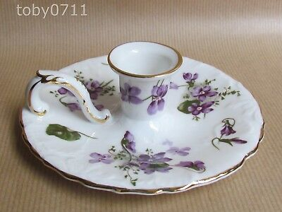 HAMMERSLEY VICTORIAN VIOLETS CANDLE HOLDER (Ref2595)