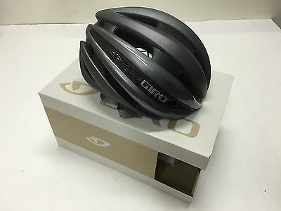 2017 Giro Synthe Mips Helmet Matte Titanium/silver Large - New In The Box!