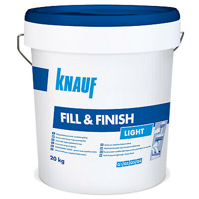 KNAUF Sheetrock Fill & Finish Light 20kg Füllmasse Feinspachtelmasse Spchatel