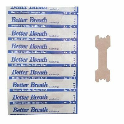 Nasal Strips Anti Snoring Patches 100Pcs Sleep Better Stop Snore Breathe Improve