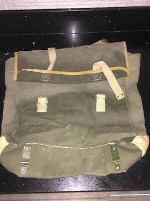 Post Ww2 Army Dispatch Motorcycle Pannier  - Nos
