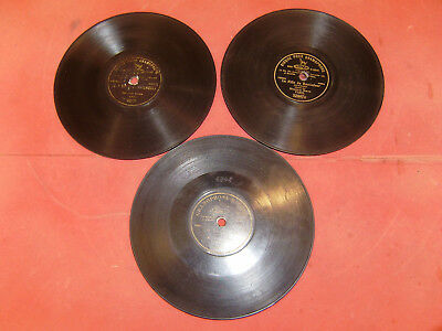 Phonographe 3 disques 78 tours gramophone phonograph
