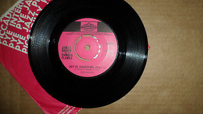 James Brown & The Famous Flames 'get It Together' 7N. 25441 Pye 1967 Uk Issue