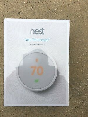 Nest Learning Thermostat E - Newest Model (Brand New in original Retail Box)