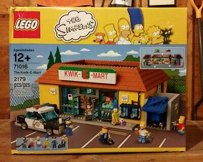 Brand New Factory Sealed LEGO The Simpsons The Kwik-E-Mart (71016)