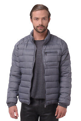 RRP €276 CERRUTI 18CRR81 Size 56 / XXL Padded Stand-Up Collar Quilted Jacket