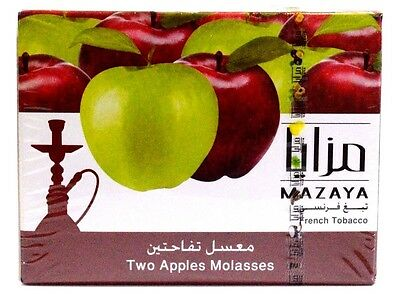 Mazaya 1 Kg Two Apples Premium Flavour Shisha Hookah Tobacco Molasses