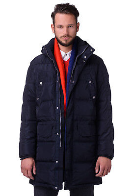 RRP €504 CERRUTI 18CRR81 Size 50 / M Men's Parka Jacket With Detachable Hood