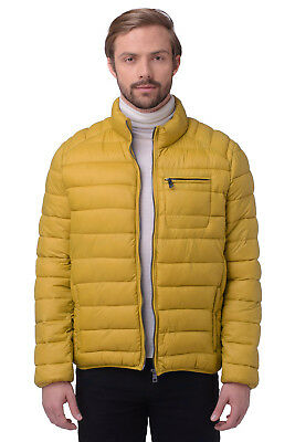 RRP €276 CERRUTI 18CRR81 Size 54/XL Men's Padded Stand-Up Collar Quilted Jacket