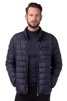 RRP €276 CERRUTI 18CRR81 Size 50 / M Padded Stand-Up Collar Quilted Jacket