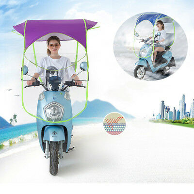 New Universal Car Motor Scooter Rain Umbrella Safe Mobility Sun Shade Cover