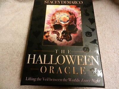Halloween Oracle tarot deck, box, and guide book exc conditon