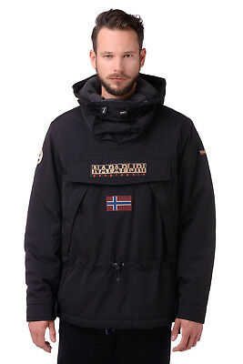 RRP €449 NAPAPIJRI ICONIC SKIDOO Men's Thermore Hooded Pullover Jacket Size M