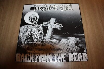 Negative Gain - Back From The Dead - Uk Issue + Insert - Very Good