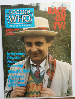 Doctor Who Monthly #129 Grant Morrison