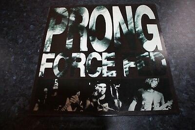 Prong - Force Fed - Us Issue + Printed Inner - Very Good