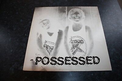 Venom - Possesed - Neat Records - Blue Vinyl + Inner -  Very Good