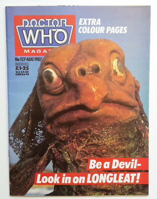 Doctor Who Monthly #127 Grant Morrison