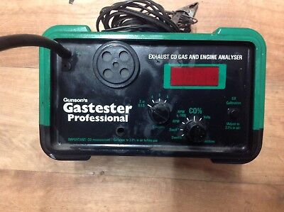 Exhaust CO Gas And Engine Analyser