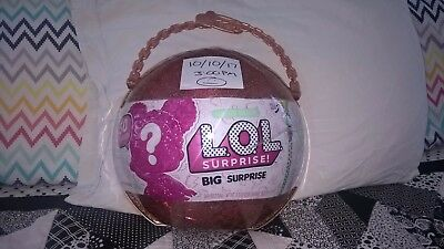 "Lol Surprise Doll Big Surprise Doll Gold Ball ""authentic""  Sealed"