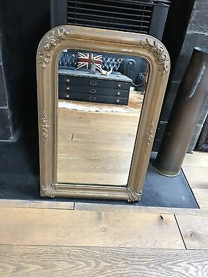 Original Antique French Mirror Early 19Th Century