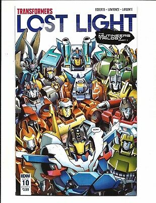 TRANSFORMERS: LOST LIGHT # 10 (SEPT 2017), NM NEW (Bagged & Boarded)