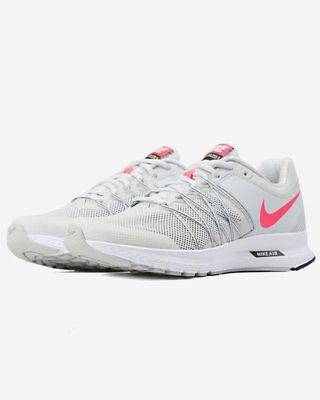 le nike air implacabile 6 di puro platino racer rosa nero correre