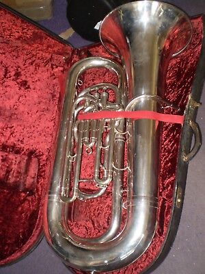 Tuba 3 valve BBb Imperial compensating tuba by Boosey & Hawkes 1980
