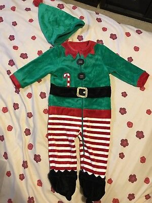 Mothercare Baby Elf Christmas costume 6-9 months. Fancy dress toddler