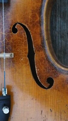 Old Antique Violin Fiddle Geige 4/4 Labelled G.a. Chanot