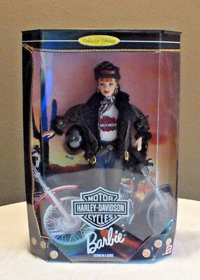 Barbie Harley Davidson 1998 Red Head Collector Edition