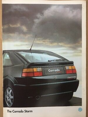 Car Brochure - 1995 Volkswagen Corrado Storm - UK