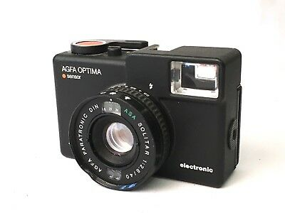 Agfa Optima Electronic Sensor 35mm Compact Camera. Free UK Shipping