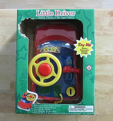Navystar Little Driver Battery Operated Driving Toy New And Sealed Jmsr21