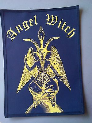 Angel Witch,sew On Sublimated Large Back Patch