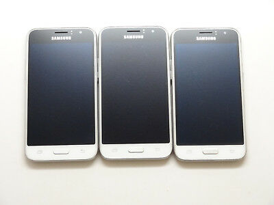 Lot of 3 Samsung Galaxy Express 3 J120A AT&T Smartphones AS-IS GSM