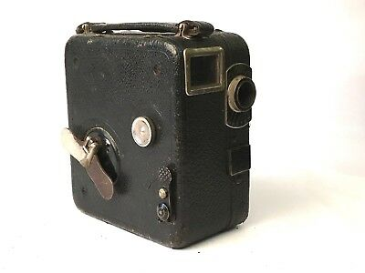 Pathescope Pathe Motocamera 9.5mm Vintage Cine Camera. Includes Free UK Shipping