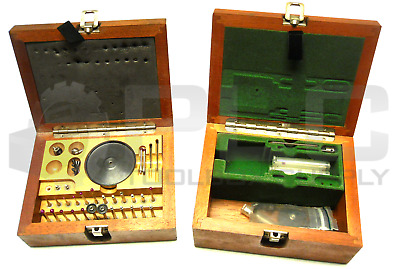 Renishaw Tp1S Wooden Probe Case With Probes