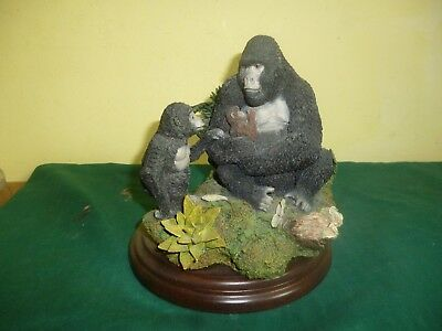 Country Artists GORILLA MOTHER AND YOUNG CA719