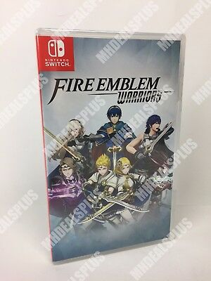 NEW & SEALED Fire Emblem Warriors with Special Edition Case [Nintendo Switch]