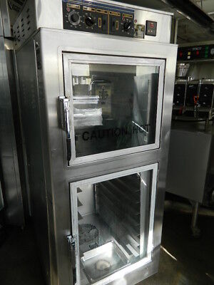 Nu-Vu Ub-E4/8 Convection Oven / Proofer Electric Stainless Steel 120/240V 3 Phas